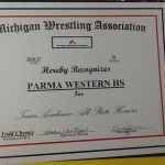 Wrestling Team Earns Academic All State Honors