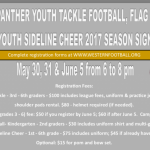 Youth Football and Youth Cheerleading Information!
