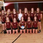 JV Volleyball Ends Season 34-3-2!