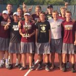 Varsity Boys Tennis Ranked 5th in State!