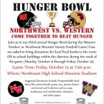 3rd Annual Hunger Bowl FRIDAY!