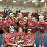 Varsity Competitive Cheer Wins Western Invite!