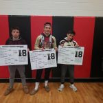 Wrestling Takes 3rd in I8 Conference
