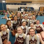 Competitive Cheerleading Takes 3rd in I8 League!
