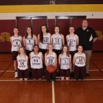 7th Grade Gold Girls Basketball Goes 11-0!