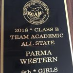 Girls Basketball Academic All State Call B!