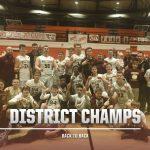 Varsity Boys Basketball Wins Conference Back to Back!