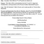 Middle School Basketball Clinic!