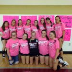 Freshman Volleyball Defeats Harper Creek!