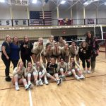 Varsity Volleyball Goes Undefeated to Win First Conference Title Since 2008!
