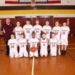 7th Grade B Boys Basketball Defeats Hastings!
