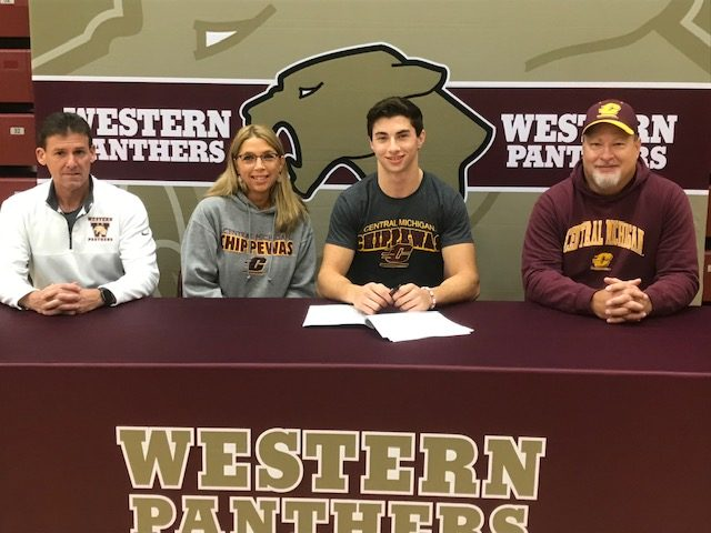 Tyler Pape Signs with Central Michigan