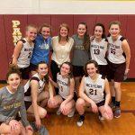 8th Grade Maroon Girls Basketball Defeats Pennfield