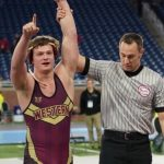 Landon Raczkowski Earns 3rd Place in MHSAA Wrestling State Finals