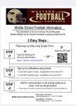 7th and 8th Grade Football Sign Ups!