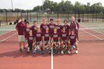 Varsity Boys Tennis Competes at Byron Center