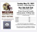 Quarterback Club Golf Outing!