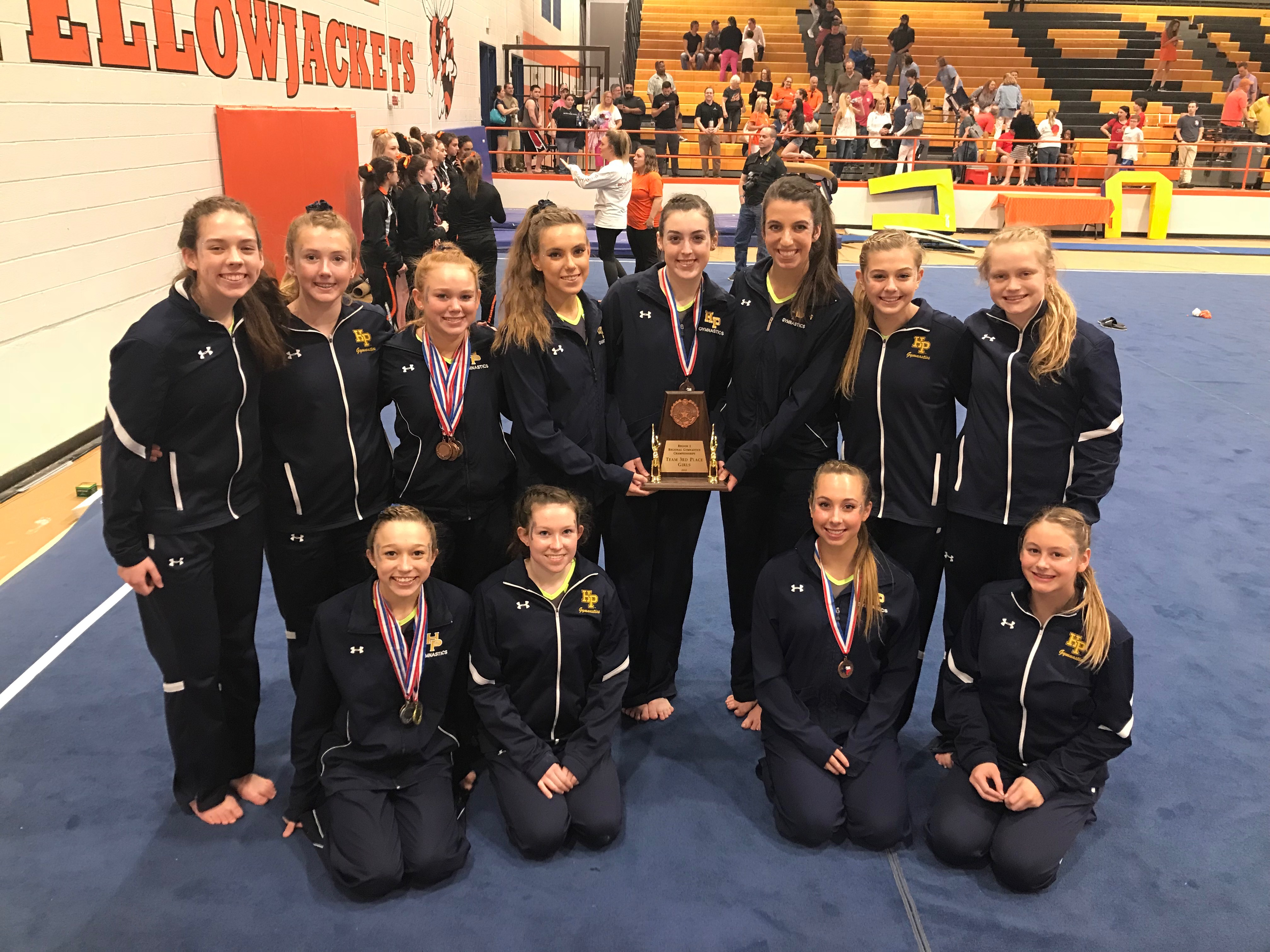 Lady Scots Gymnastics Place 3rd at Regionals and Advance to State