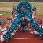 Cheerleaders get involved in volunteering