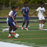 Bowie High School Boys Varsity Soccer beat Charles Flowers 5-1