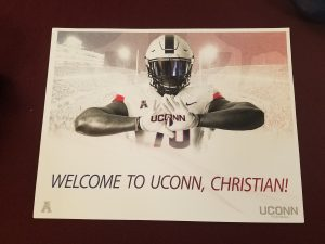 Christian Haynes    Heading to UCONN