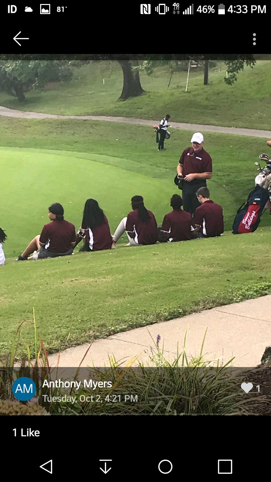 Congratulations to the Golf Team