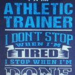 Athletic Trainers Month