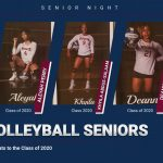 CONGRATS TO THE VOLLEYBALL SENIORS
