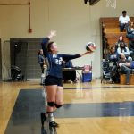 Girls Varsity Volleyball falls to Eleanor Roosevelt 3 – 2