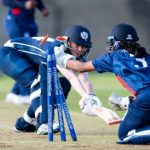 Bowie High School's Alicia Fernando Made the Women's National Under 19 Training Group for Cricket