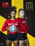 Bowie's own Cara Lewis Leading MD Volleyball
