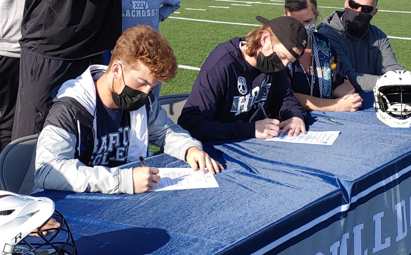 2 Boys Lacrosse Players Sign Letter of Intent