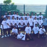 Arlington Boys' Tennis wins the 2016 Inland Valley League Title with a Prefect 10 & 0 Record.