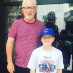 Future Arlington Lion, Jack Kleveno meets Chicago Cubs, Manager, Joe Madden.