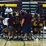 Arlington VB was bested in season home opener on Wednesday, 8/31/16.