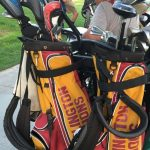 Arlington Girls' Golf defeats Rancho Verde, 291-321, on Thursday, 10/13.