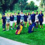 Arlington Girls' Golf downs J.W. North 308-316 on Tuesday, October 4 at Canyon Crest CC.