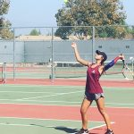 Arlington Girls' Doubles Teams advance to IVL Finals at Andulka Park.