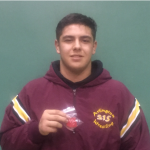 Alex Elias finishes as CiF Sectional Runner-Up at 220 lbs.  CiF Masters' Meet Friday, 2/24 and Saturday, 2/25 at the Ontario Convention Center.