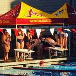 Arlington boys and girls swim teams pick up win over Colton, on Monday, 4/17.
