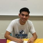 "Jose ""Bibi"" Gomez signs with California State University San Bernardino to play soccer for the Coyotes."