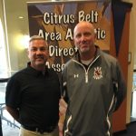 Coach Biddle honored at the CBAADA Championship Coaches Breakfast, on Tuesday, 5/16.
