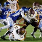 Arlington Football hosts Canyon Springs in lower level, double header, on Thursday, 10/26.