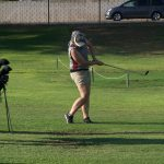 Arlington Girls' Golf slips past J.W. North, 328 – 332, on Tuesday, 9/12 at the Canyon Crest Country Club.