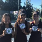 Arlington Girls' Tennis players advance to Inland Valley League Semi-Finals on Wednesday, 10/25.