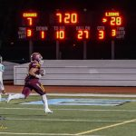 Arlington Football downs Canyon Springs, 45-14 on Friday, 10/27, to improve to 8&1 on the season.
