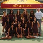 Arlington Girls' Tennis bested by Elsinore H.S. on Friday, 11/3, 14-4.