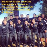 Arlington Boys' Soccer wins first game of season at Heritage Tournament on Wednesday, 11/29.