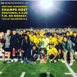 Arlington Boys' Soccer to host Chaparral in the first round of the Champions Tournament on Monday, 12/4, at 5:30 p.m.
