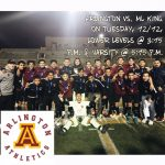 Arlington Boys' Soccer ties M.L. King, 1-1, on Tuesday, 12/12.